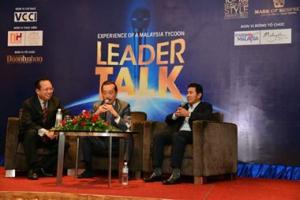 """Hội Thảo: """"Leader Talk – / sẻ kinh nghiệm của doanh nhân hàng đầu Malaysia"""", Malaysia"""